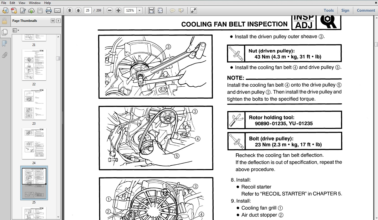 Product picture 1995 Yamaha VK540 II / III Snowmobile Service  Repair Maintenance Overhaul Workshop Manual
